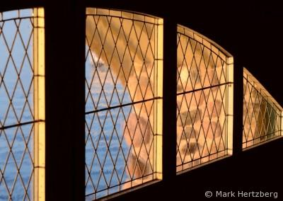 Penwern boathouse windows