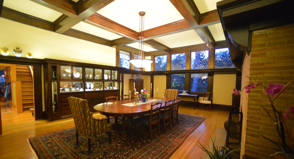 Penwern dining room