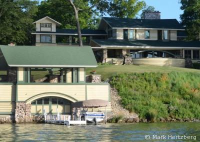 Penwern and boathouse