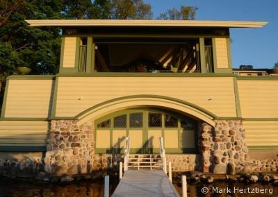 Penwern boathouse dock