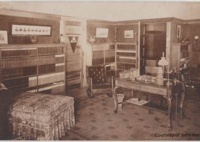 Penwern Bedroom: Postcard Courtesy of John Hime