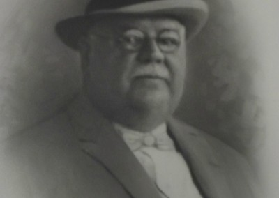 Fred B. Jones Portrait Courtesy of Pittsfield, Illinois, Public Library