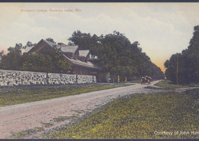 Gate Lodge and Carriage: Postcard Courtesy of John Hime
