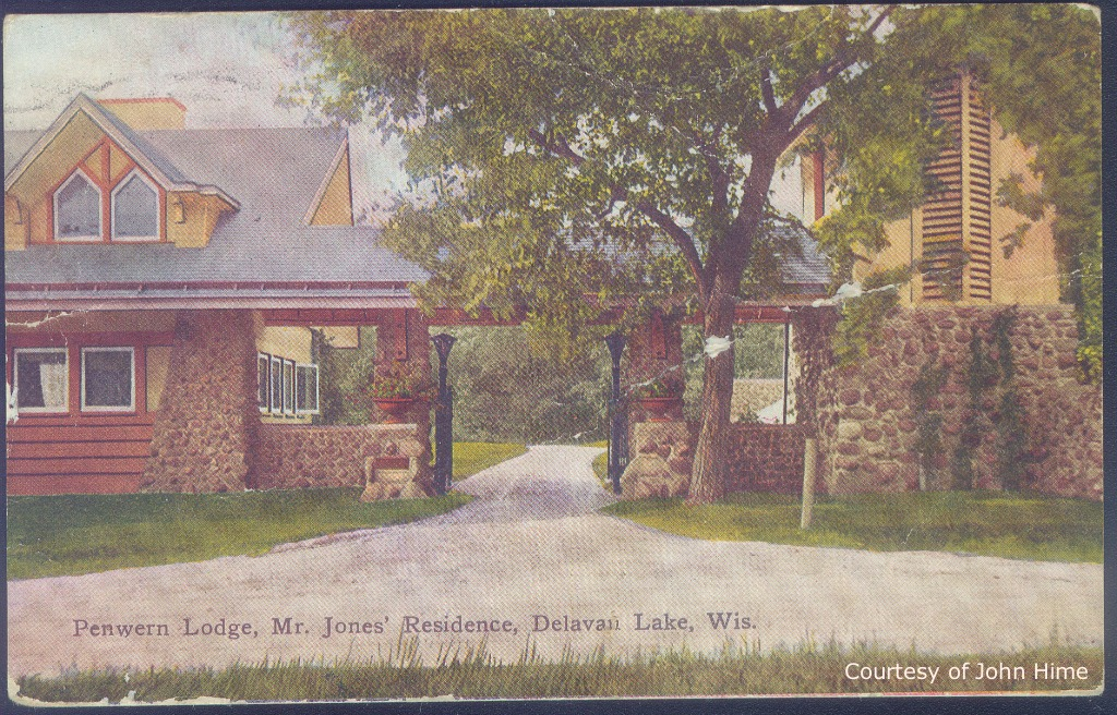 Gate Lodge Entrance: Postcard Courtesy of John Hime