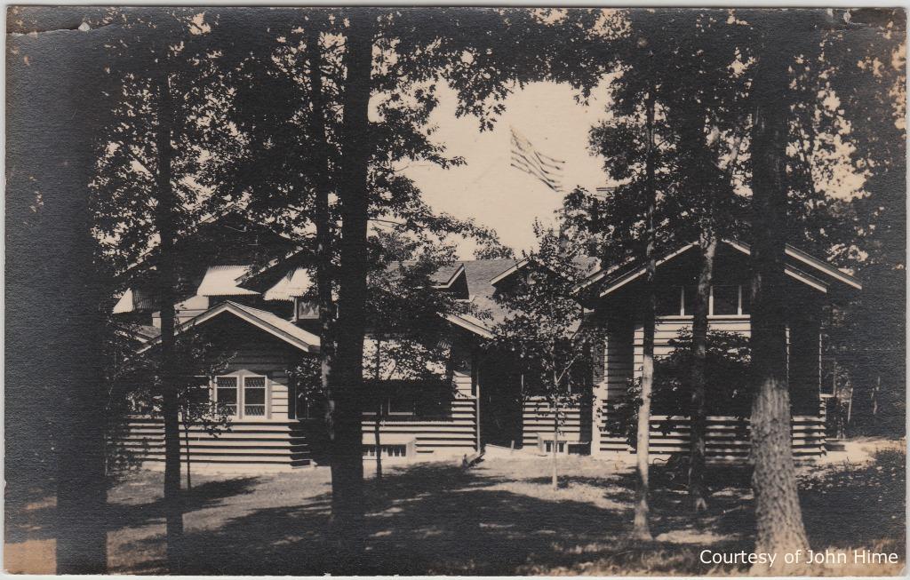Penwern: Postcard Courtesy of John Hime