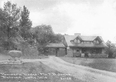 Penwern Lodge - Mr. F. B. Jones, Delavan Lake, Wis..jpeg